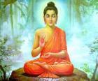 Dessin du Gautama Bouddha