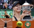 Maria Sharapova champion Roland Garros 2012