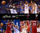 Finales NBA 2012, 1er match, Miami Heat 94 - Oklahoma City Thunder 105