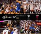 Finales NBA 2012, 3ème partie, Oklahoma City Thunder 85 - Miami Heat 91