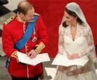 La mariée et le marié lors du mariage