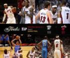 Finales NBA 2012, Partie 5, Oklahoma City Thunder 106 - Miami Heat 121