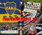 Boca Juniors vs Corinthiens. Final Copa Libertadores 2012