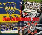 Boca Juniors vs Corinthiens. Final Copa Libertadores 2012