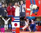 Podium Judo femme plus de 78 kg