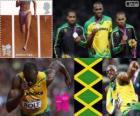 Athlétisme 200 m hommes LDN 2012