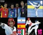 Taekwondo -80 kg hommes Londres12