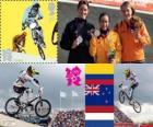 BMX féminin Londres 2012
