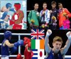 Boxe coqs - 56kg hommes Londres12