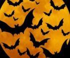 Chauves-souris pour la célébration de l'Halloween