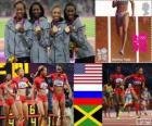 Athlétisme 4x400m féminin LDN2012