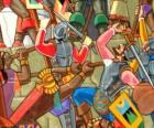 Guerriers inca combats