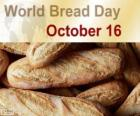 16 Octobre, Journée mondiale du pain