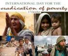 17 octobre, Journée internationale pour l'élimination de la pauvreté