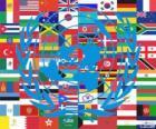 Le 24 Octobre, c'est la Journée des Nations Unies, en commémoration de sa fondation en 1945