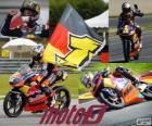 Sandro Cortese, champion du monde 2012 Moto3 ™