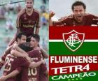 Fluminense Football Club champion de l'édition 2012 du Championnat du Brésil