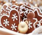 Biscuits de Noël de différentes formes