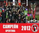 Xolos de Tijuana champion apertura 2012, Mexique