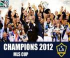 Le Los Angeles Galaxy, champion de la MLS Cup 2012