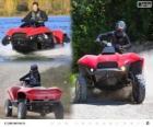 Le Quadski Gibbs est un prototype de quad/ATV amphibie