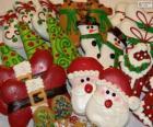 Biscuits de Noël magnifiques de différentes formes