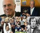 Distinction présidentielle de la FIFA de 2012 pour Franz Beckenbauer