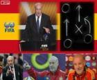 Vicente del Bosque entraîneur de football de hommes de la FIFA 2012