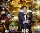 Lionel Messi Ballon d'Or FIFA 2012