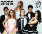 EME15, est une band musique pop, teen pop  mexicain
