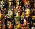 Masques classiques de carnaval