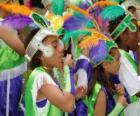 Enfants au carnaval