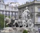 Fontaine de Cibeles, Madrid, Espagne