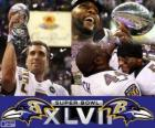 Ravens de Baltimore Champions Super Bowl 2013