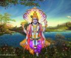 Vishnu ou Vichnou, le dieu protecteur de la Trimurti