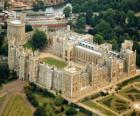 Le château de Windsor, Angleterre