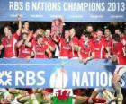 Welsh champion Six-Nations 2013
