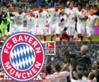 F. C. Bayern Munich, champion de Bundesliga 2012-13