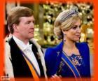 Willem-Alexander et Máxima nouveaux rois de Hollande (2013)