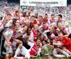 Ajax Amsterdam, champion Eredivisie 2012-2013, championnat des Pays-bas de Football