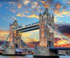 Le Tower Bridge, Angleterre