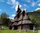 Stavkirke de Borgund, Norvège