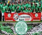 Celtic FC, champion de le Championnat d'Écosse de football 2012-2013