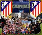 Atlético de Madrid champion du Copa del Rey 2012-2013