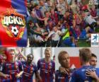 CSKA Moscou, champion de la Ligue de Football russe, Premier Ligue 2012-2013