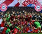 FC Bayern Munich, champion de la Ligue des Champions UEFA 2012-2013