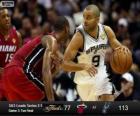 Finales NBA 2013, 3ème partie, Miami Heat 77 - San Antonio Spurs 113