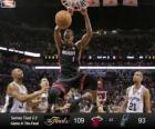 Finales NBA 2013, 4 partie, Miami Heat 109 - San Antonio Spurs 93
