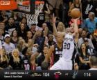 Finales NBA 2013, 5 partie, Miami Heat 104 - San Antonio Spurs 114