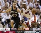 Finales NBA 2013, 7 partie, San Antonio Spurs 88 - Miami Heat 95